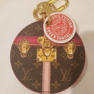Louis Vuitton Summer Trunks Bag Charm  Key Holder
